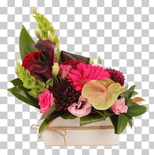 Floral Design Flowerpot Flower Bouquet Cut Flowers Artificial Flower PNG