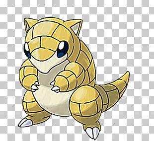 Pokémon Sun And Moon Pokémon X And Y Pokémon Gold And Silver Sandshrew PNG