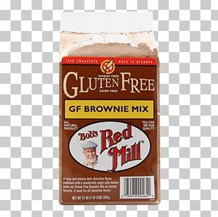 Chocolate Brownie Bob's Red Mill Gluten-free Diet Flour PNG