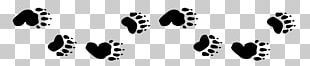 Paw American Black Bear Polar Bear Animal Track PNG