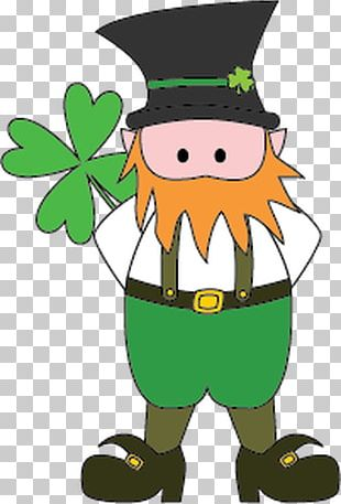Leprechaun Saint Patricks Day PNG