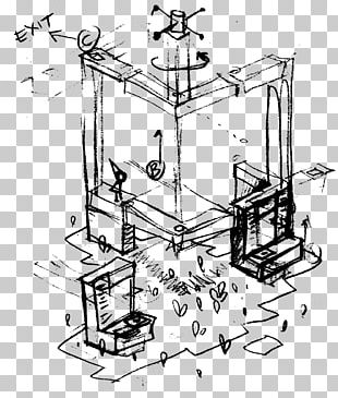 Monument Valley Video Game Sketch PNG