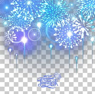 Fireworks New Year PNG