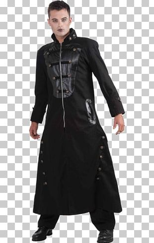 Goth Subculture Overcoat Clothing Jacket Fashion PNG