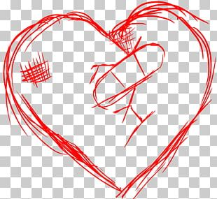 Broken Heart Drawing Sketch PNG