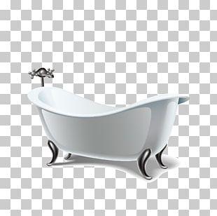 Bathroom Bathtub Euclidean PNG