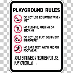 Playground Safety School Zone Sign Child PNG
