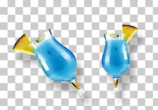 Blue Hawaii Wine Cocktail Wine Cocktail Champagne PNG