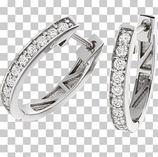 Earring Wedding Ring Diamond Brilliant PNG