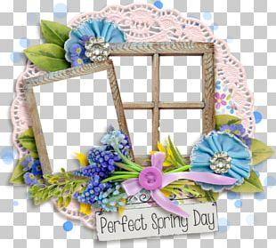 Frames Window Floral Design PNG