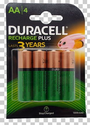 Battery Charger AAA Battery Nickel–metal Hydride Battery Duracell Rechargeable Battery PNG