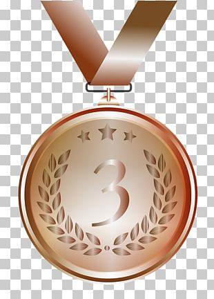 Gold Medal Bronze Medal Silver Medal Award PNG