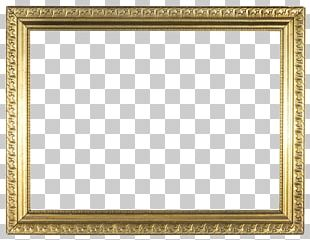 Frames Gold Stock Photography PNG