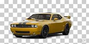 Muscle Car Sports Car 2018 Dodge Challenger PNG