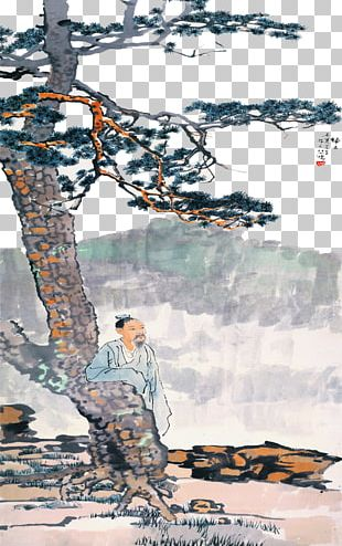 Chinese Painting Ink Wash Painting Art PNG