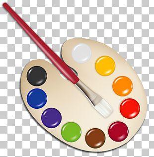 Palette Paintbrush PNG
