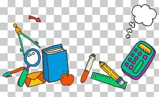 School Supplies Learning PNG