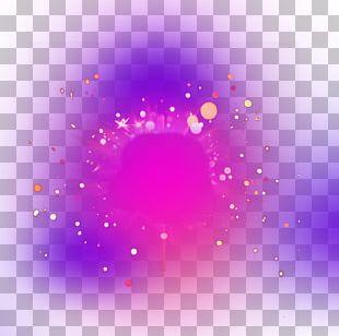 Light Purple Halo PNG