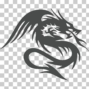 Wall Decal Bumper Sticker Dragon PNG