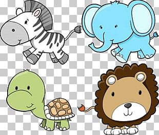 Baby Zoo Animals Baby Jungle Animals PNG