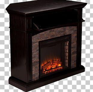 Electric Fireplace Fireplace Mantel Shelf Electricity PNG