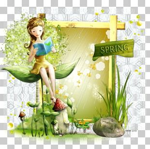 Floral Design Fairy Desktop PNG