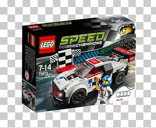 Audi R8 LMS (2016) LEGO 75873 Speed Champions Audi R8 LMS Ultra Lego Speed Champions PNG