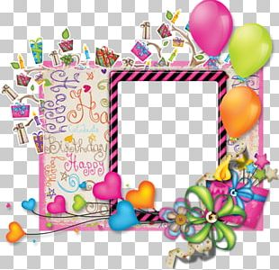 Birthday Frames Party PNG