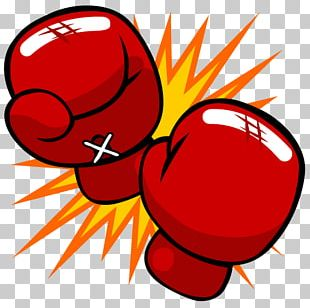 Boxing Glove Kickboxing Cartoon Punch PNG