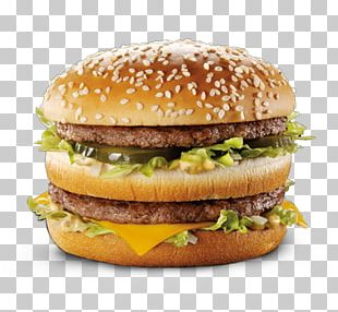 McDonald's Big Mac Hamburger Cheeseburger McDonald's Quarter Pounder Big N' Tasty PNG