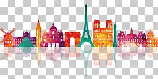 Paris Drawing Skyline Illustration PNG