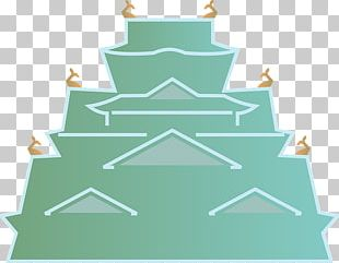 Osaka Japanese Architecture PNG