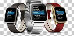 Pebble Time Steel Smartwatch Amazon.com PNG