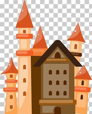 Castle Building Cartoon Architecture PNG