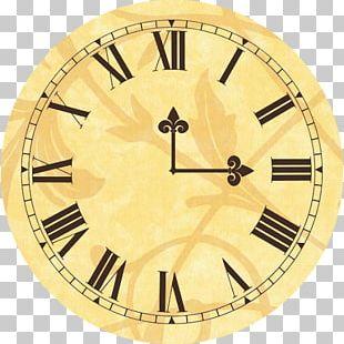 Clock Face Longcase Clock Roman Numerals PNG