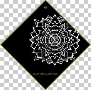Sacred Geometry Circle Mandala Pattern PNG