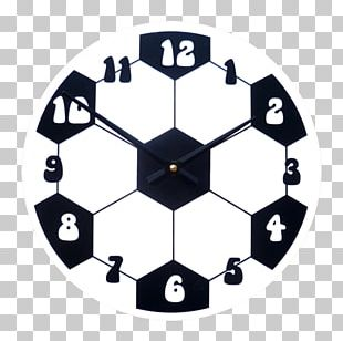 Clock Furniture Wall Room Football PNG