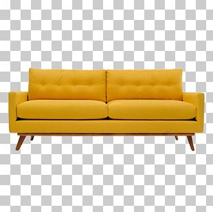 Couch Mid-century Modern Table Sofa Bed Furniture PNG