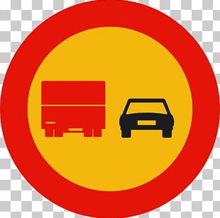 Overtaking Traffic Sign Truck Vehicle Driving PNG