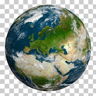 Earth Europe Planet Cloud PNG