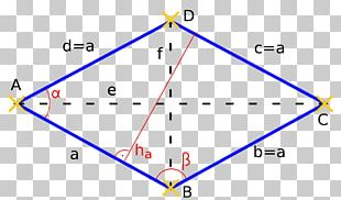 Angle Rhombus Geometry Parallelogram Quadrilateral PNG