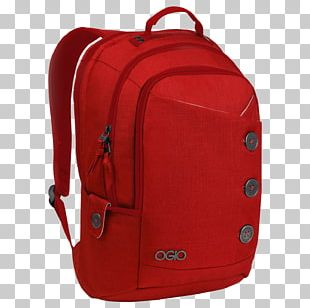 Ogio Red Backpack PNG
