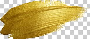 Paint Gold Illustration PNG