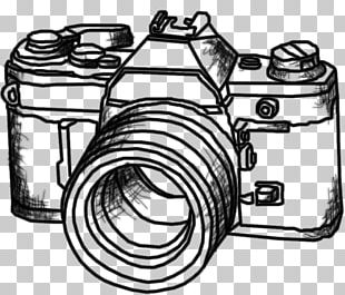 Photographic Film Photography Drawing Digital SLR Camera PNG
