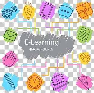 Digital Learning Digital Data Icon PNG