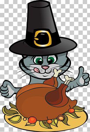Thanksgiving Cats Kitten PNG