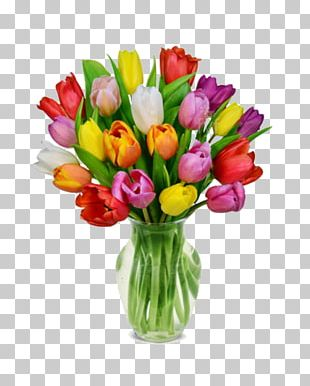 Tulip Flower Bouquet Flower Delivery Cut Flowers PNG