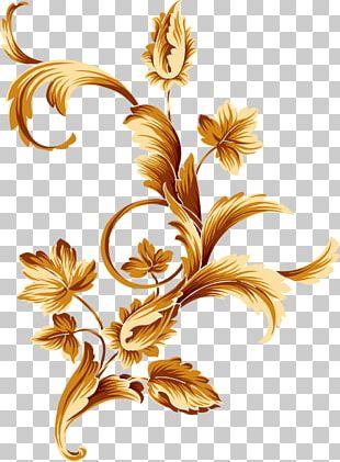 Flower Gold Color PNG