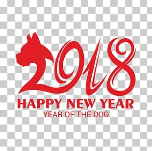 Chinese New Year New Years Day Chinese Zodiac Dog PNG