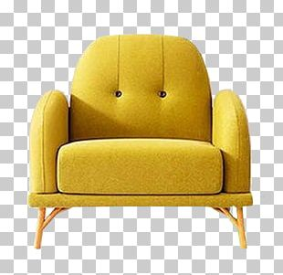Eames Lounge Chair Table Couch Furniture PNG